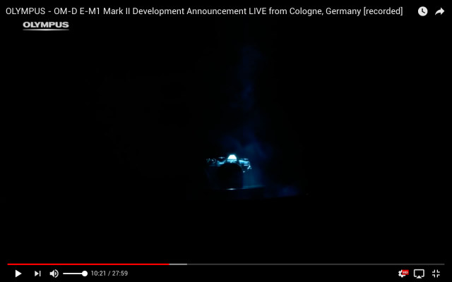 Pressekonferenz und Produktvorstellung - Livestream aus Köln für Olympus Deutschland - Inszenierung