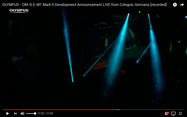 Pressekonferenz und Produktvorstellung - Livestream aus Köln für Olympus Deutschland - Lichteffekte
