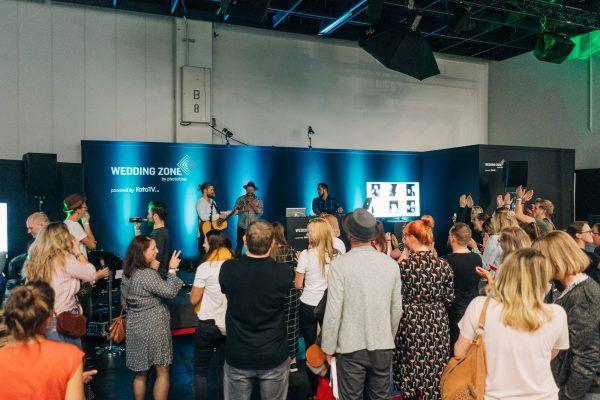 Livestream von der Messe - Wedding Zone auf der photokina in Köln - Videoproduktion - Rahmenprogramm - WiMaMo Konzert