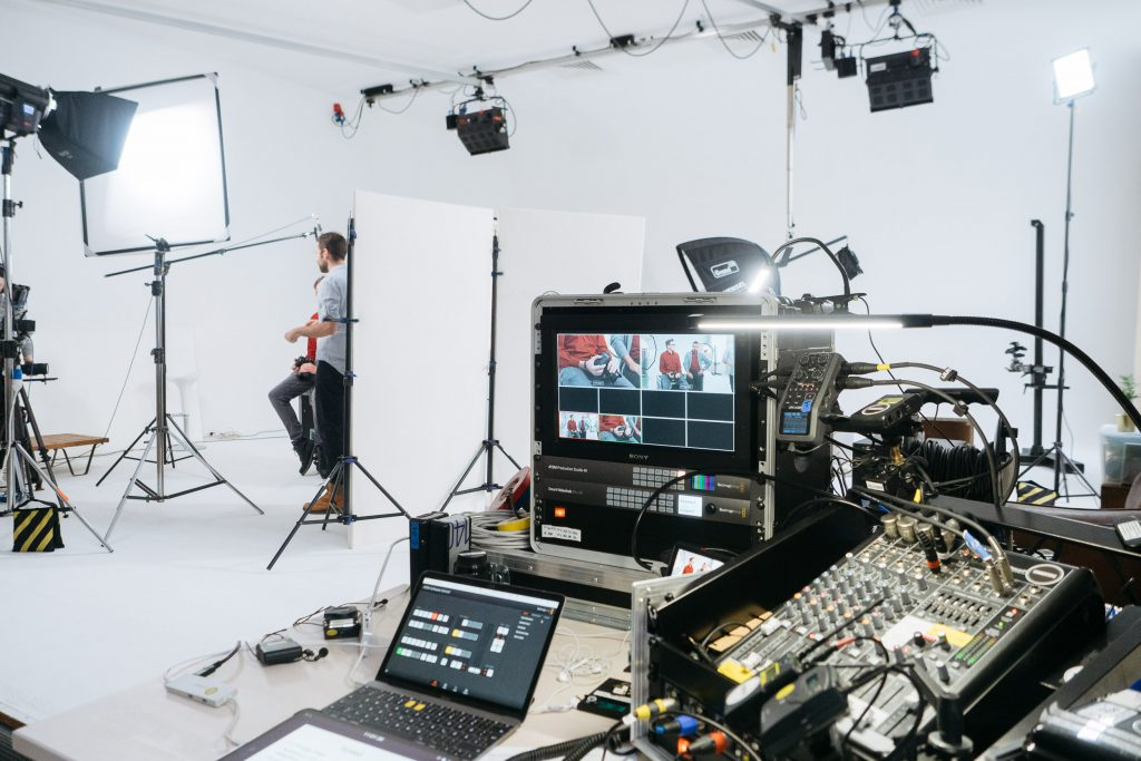 Product Launch Videos Behind The Scenes 3 - Liveschnitt System