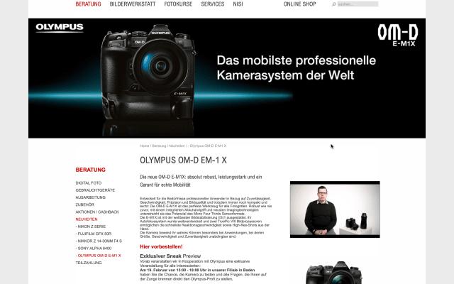 Produktvideo eingebettet im Onlineshop 2