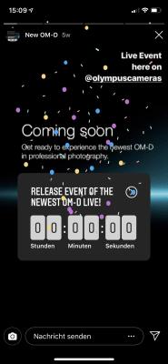 Olympus OM-D E-M1X Livestream YouTube und Instagram 4