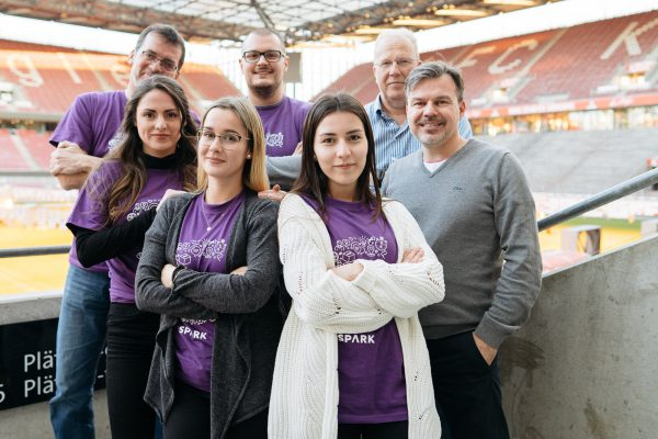 Teamfoto Outdoor Spark 2018 - Eventdokumentation - Foto & Video - Videoproduktion im Kölner Stadion