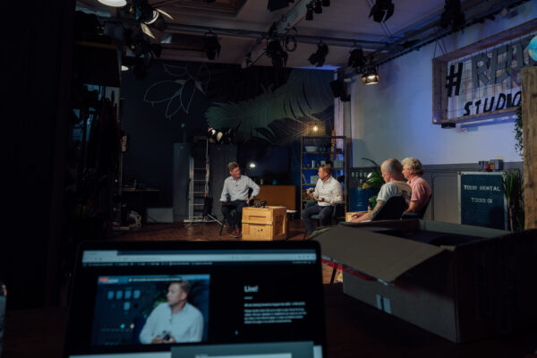 Produkt-Launch im Livestream
